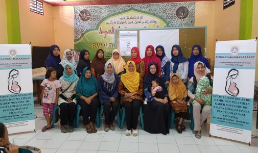 Antenatal class and Workshop preventing child stunted