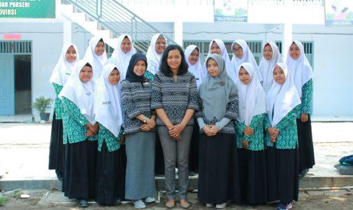 Community Service Project at MA Al Manar Prambon Nganjuk