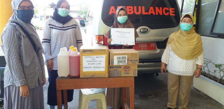 IKAWARY UNAIR Against COVID-19 Pandemic with Social Action